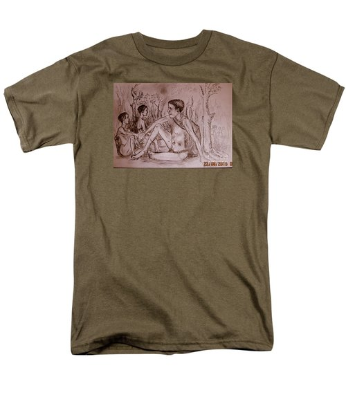 The Traditional Barter System Men's T-Shirt  (Regular Fit) by Jason Sentuf