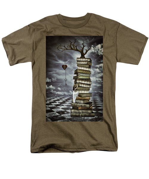 The Tree Of Love Men's T-Shirt  (Regular Fit) by Mihaela Pater