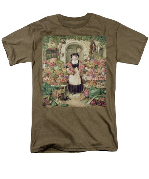 The Vegetable Stall  Men's T-Shirt  (Regular Fit) by Thomas Frank Heaphy