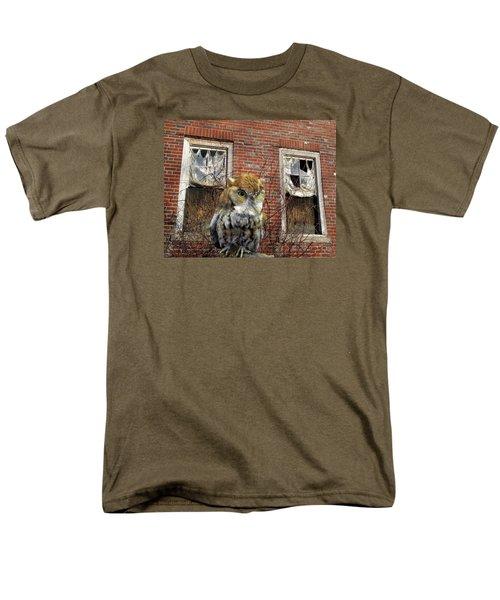 Men's T-Shirt  (Regular Fit) featuring the photograph The Watch by Lynda Lehmann