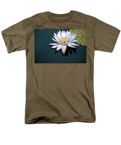 Men's T-Shirt  (Regular Fit) featuring the photograph The Water Lily by David Sutton