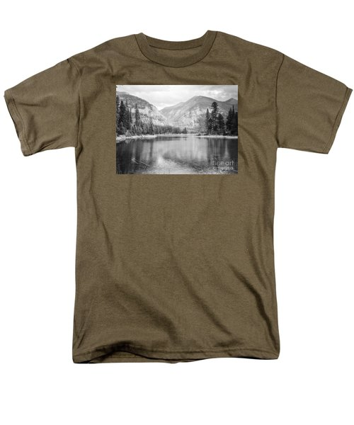 Men's T-Shirt  (Regular Fit) featuring the photograph The Way Down- Journey by Janie Johnson
