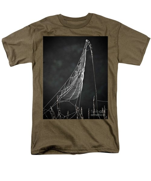 Men's T-Shirt  (Regular Fit) featuring the photograph The Web by Tom Cameron