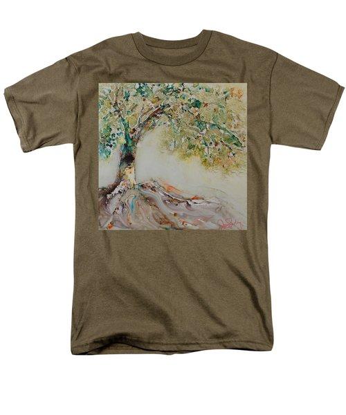 The Wisdom Tree Men's T-Shirt  (Regular Fit) by Joanne Smoley