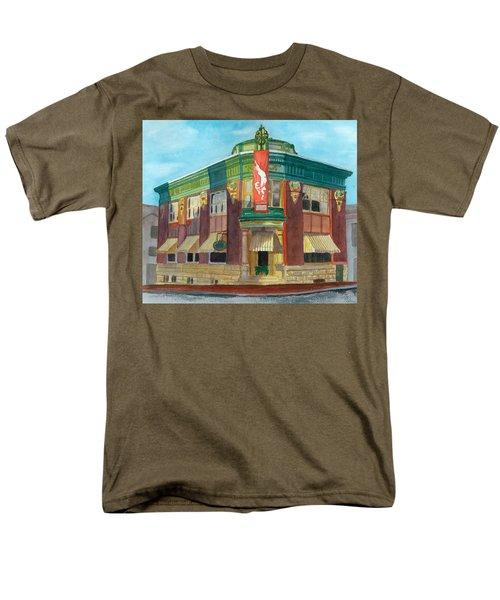 The Yellow Brick Bank Restaurant Men's T-Shirt  (Regular Fit) by Lynne Reichhart