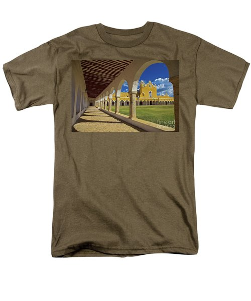 The Yellow City Of Izamal, Mexico Men's T-Shirt  (Regular Fit) by Sam Antonio Photography