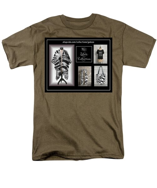 The Zebra Collection Men's T-Shirt  (Regular Fit) by Geraldine Alexander