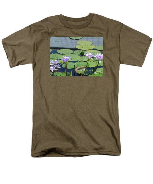 Men's T-Shirt  (Regular Fit) featuring the photograph Their Own Kaleidoscope Of Color by Chrisann Ellis