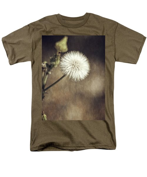 Men's T-Shirt  (Regular Fit) featuring the photograph Thistle by Carolyn Marshall