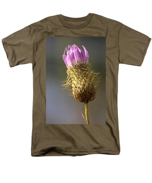 Thistle Men's T-Shirt  (Regular Fit) by Joseph Skompski