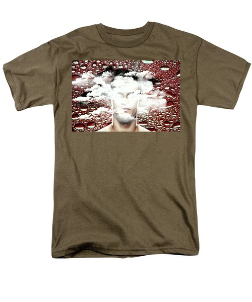 Thoughts Are Like Clouds Passing Through The Sky Men's T-Shirt  (Regular Fit) by Paulo Zerbato