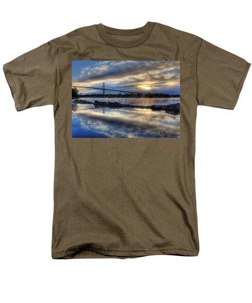 Thousand Islands Bridge Men's T-Shirt  (Regular Fit) by Lori Deiter
