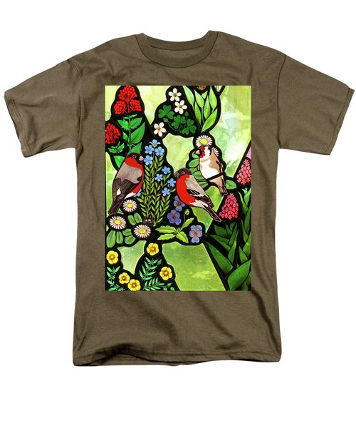 Men's T-Shirt  (Regular Fit) featuring the photograph Three Company by Munir Alawi