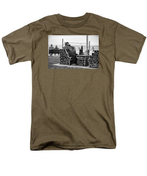 Men's T-Shirt  (Regular Fit) featuring the photograph Three Laguna Lifestyles by Vinnie Oakes