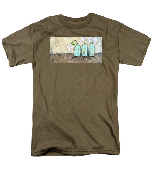 Three Of A Kind Men's T-Shirt  (Regular Fit) by Kirsten Reed