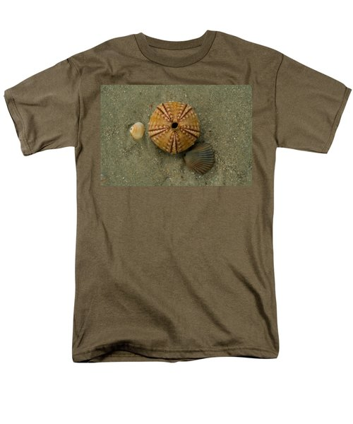 Three Shell Study Men's T-Shirt  (Regular Fit) by Todd Breitling