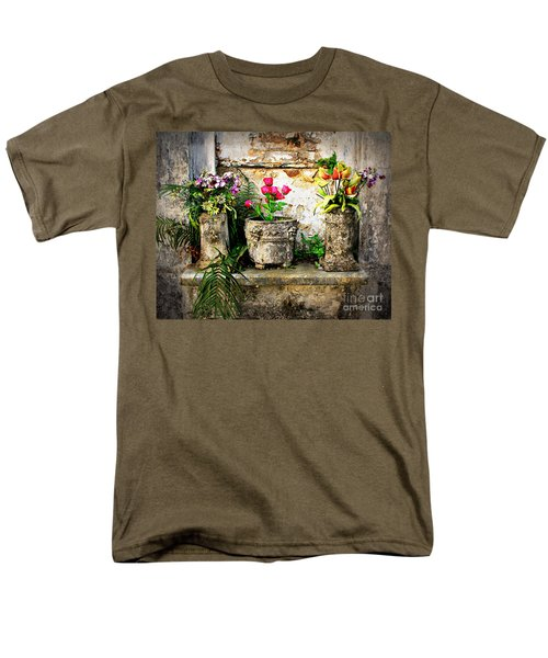 Three Vases Men's T-Shirt  (Regular Fit) by Perry Webster