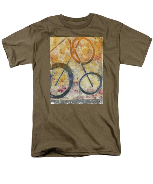Three Worlds I Men's T-Shirt  (Regular Fit)