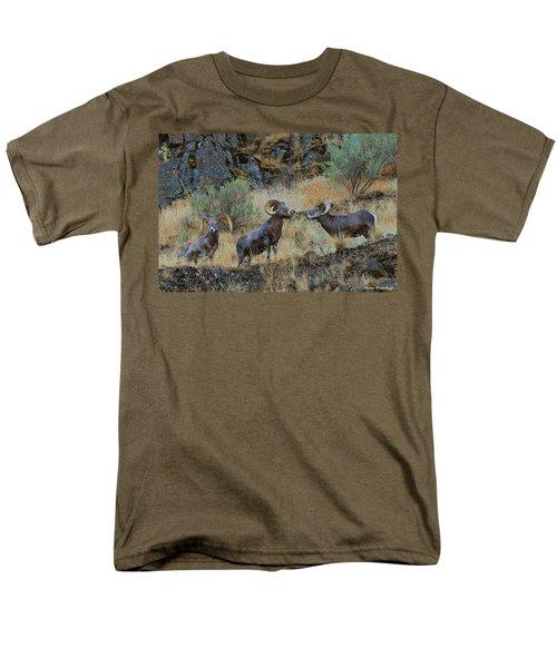 Three's Company Men's T-Shirt  (Regular Fit) by Steve Warnstaff