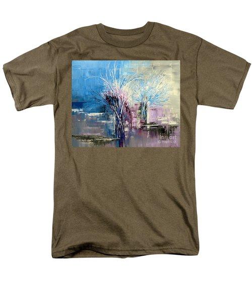 Through Morning's Light Men's T-Shirt  (Regular Fit) by Tatiana Iliina