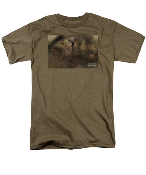 Men's T-Shirt  (Regular Fit) featuring the photograph Through The Hedge Row  by Gary Bridger