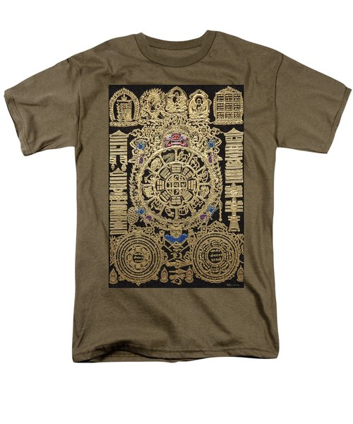 Tibetan Astrological Diagram Men's T-Shirt  (Regular Fit) by Serge Averbukh