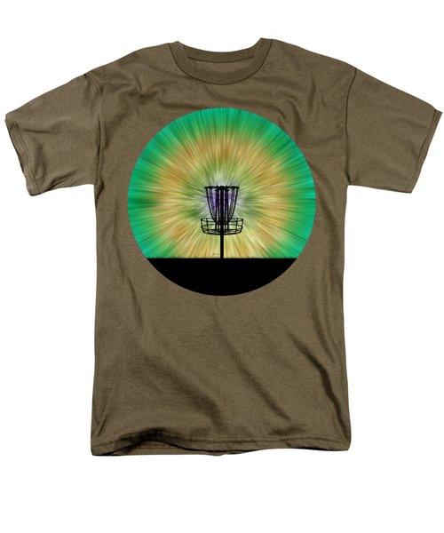 Tie Dye Disc Golf Basket Men's T-Shirt  (Regular Fit) by Phil Perkins
