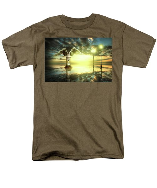Time To Reflect Men's T-Shirt  (Regular Fit) by Nathan Wright