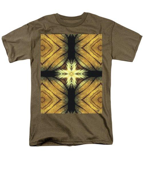 Tiger Cross Men's T-Shirt  (Regular Fit) by Maria Watt