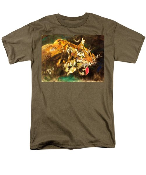 Tiger Men's T-Shirt  (Regular Fit) by Khalid Saeed