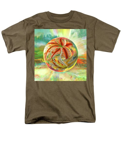 Tiger Lily Dream Men's T-Shirt  (Regular Fit) by Robin Moline