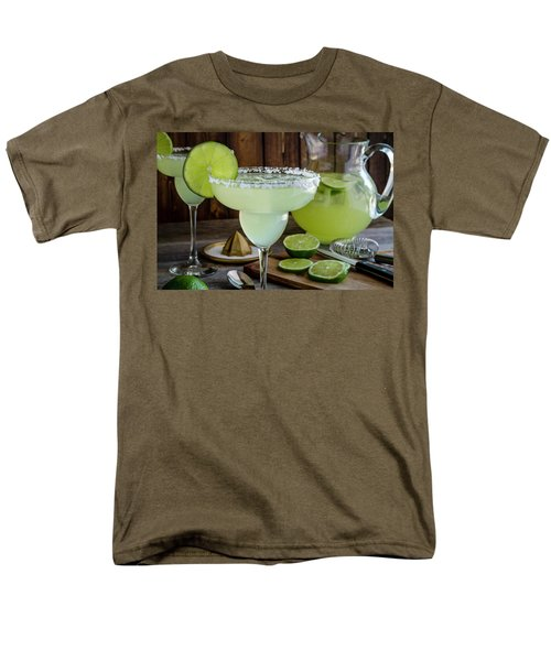 Men's T-Shirt  (Regular Fit) featuring the photograph Time For Margaritas by Teri Virbickis
