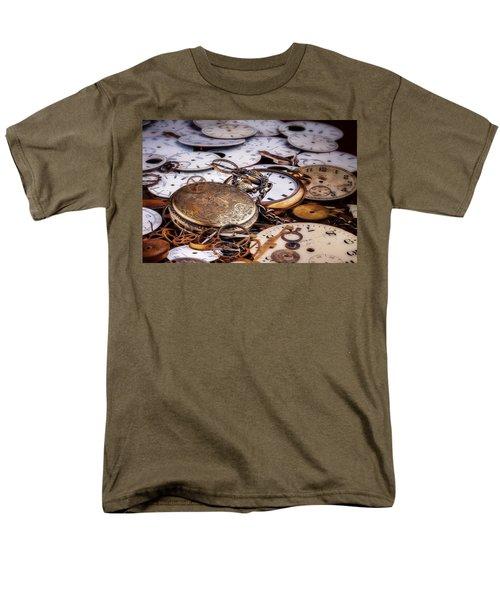 Men's T-Shirt  (Regular Fit) featuring the photograph Time Pieces by Tom Mc Nemar