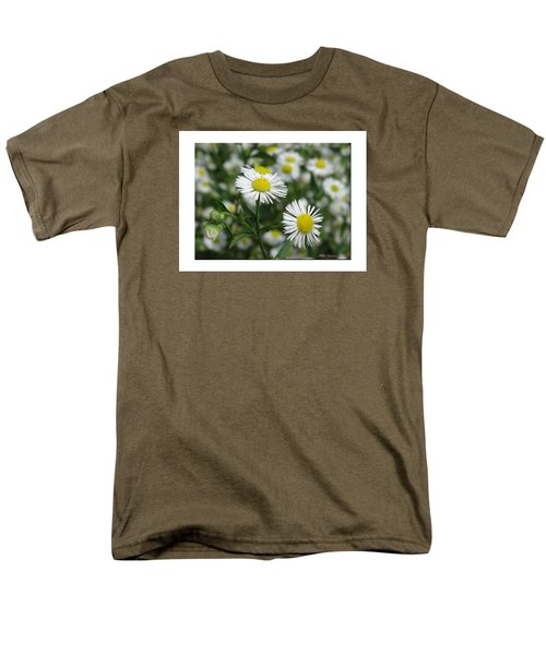 Tiny Flowers Men's T-Shirt  (Regular Fit) by Mikki Cucuzzo