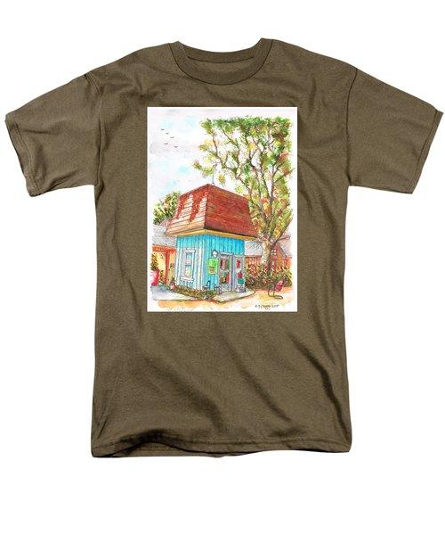 Tiny Tree Boutique In Los Olivos, California Men's T-Shirt  (Regular Fit) by Carlos G Groppa