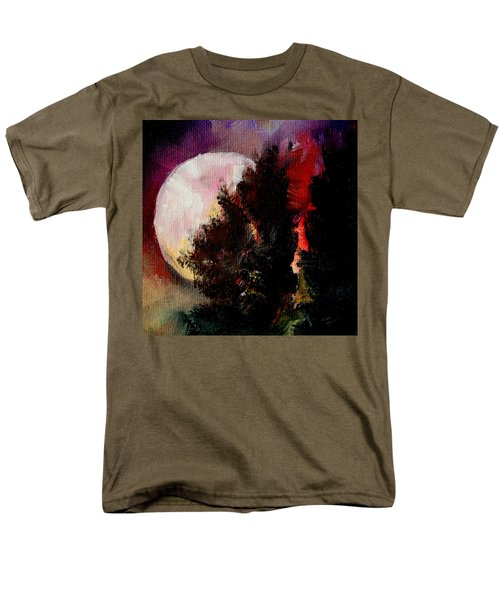 To The Moon And Back Men's T-Shirt  (Regular Fit) by Michele Carter