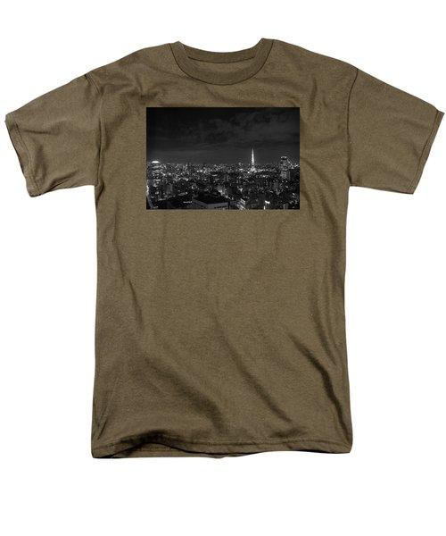 Tokyo Skyline Men's T-Shirt  (Regular Fit) by Liz Grandstaff