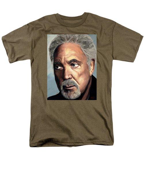 Tom Jones Men's T-Shirt  (Regular Fit) by James Shepherd