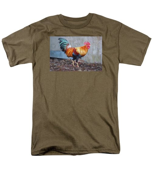 Too Sexy For My Feathers Men's T-Shirt  (Regular Fit) by Christina Lihani