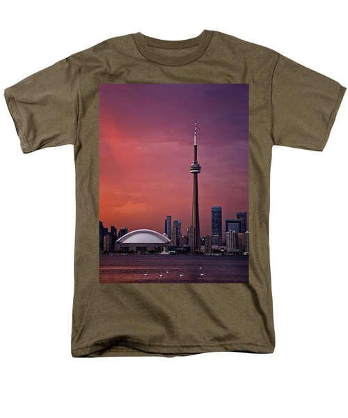Toronto Sunset Men's T-Shirt  (Regular Fit) by Ian Good