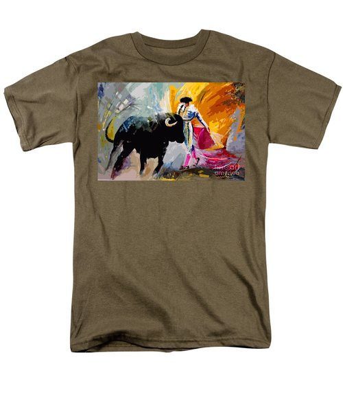 Toroscape 03 Men's T-Shirt  (Regular Fit) by Miki De Goodaboom