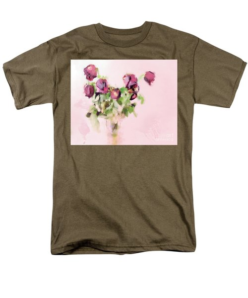 Men's T-Shirt  (Regular Fit) featuring the mixed media Touchable by Betty LaRue