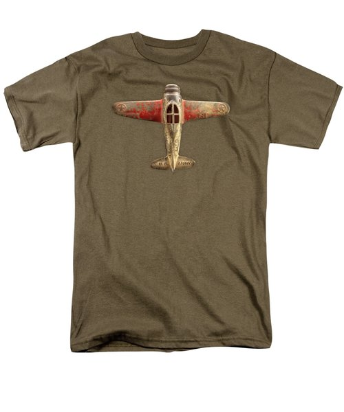 Toy Airplane Scrapper Pattern Men's T-Shirt  (Regular Fit) by YoPedro