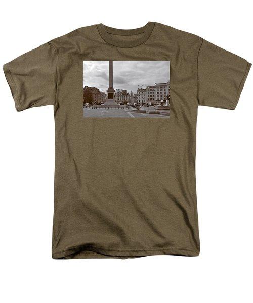 Men's T-Shirt  (Regular Fit) featuring the photograph Trafalgar Square Sunday Morning by Nop Briex