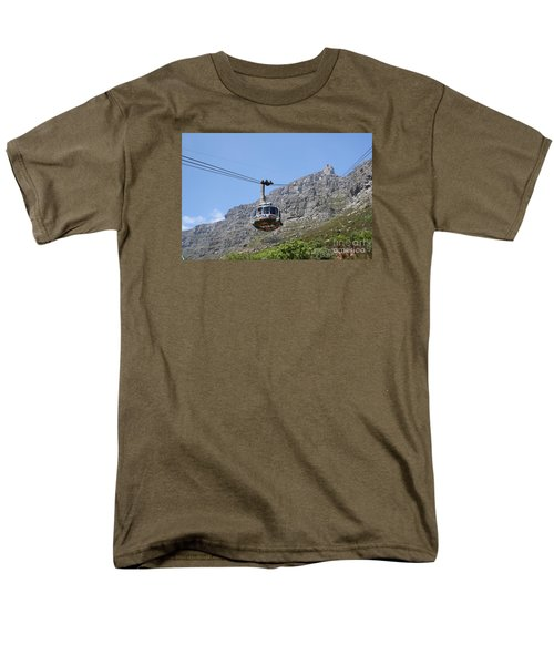 Tramway To Cable Mountain Men's T-Shirt  (Regular Fit) by Bev Conover
