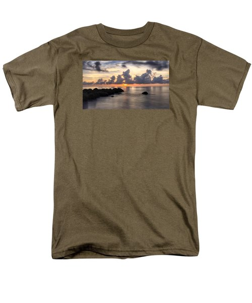 Tranquil Waters Men's T-Shirt  (Regular Fit)