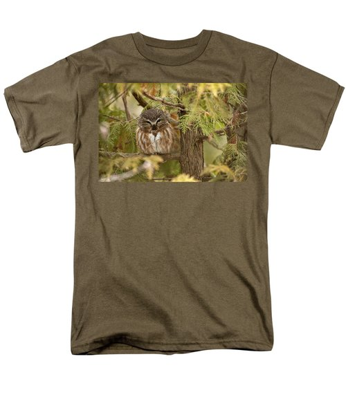 Men's T-Shirt  (Regular Fit) featuring the photograph Treasures Of The Forest by Everet Regal