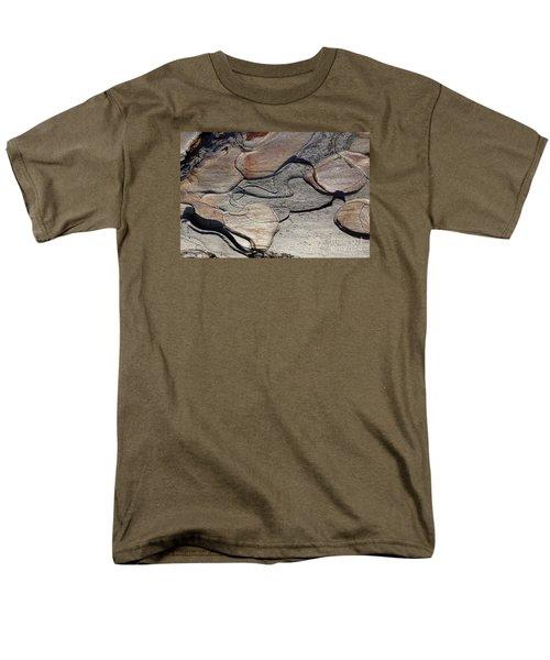 Men's T-Shirt  (Regular Fit) featuring the photograph Tree Bark 2 by Jean Bernard Roussilhe