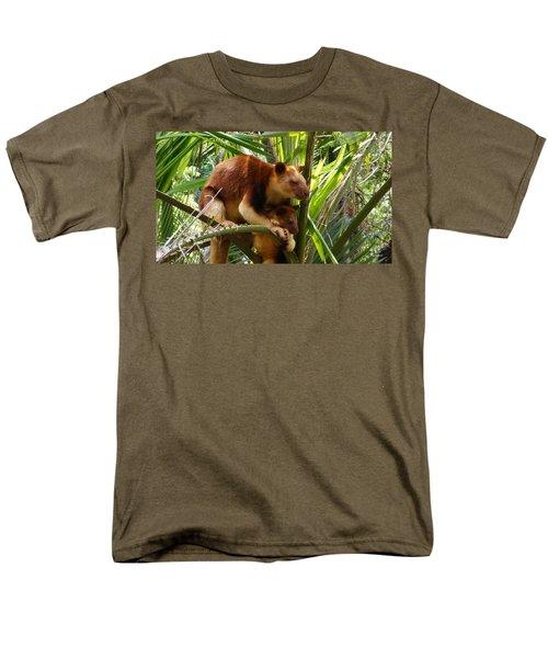 Tree Kangaroo 1 Men's T-Shirt  (Regular Fit) by Gary Crockett