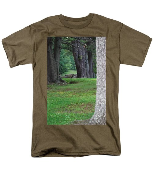 Tree Line Men's T-Shirt  (Regular Fit) by Eric Liller